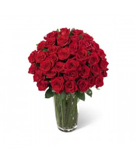 The Luxury Red Rose Bouquet
