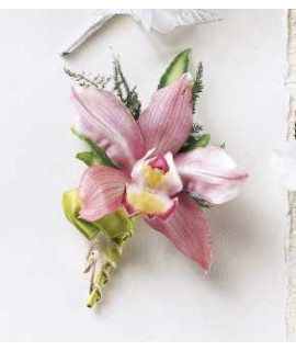 The Pink Mink Corsage