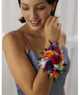 The Garden Splendor Wrist Corsage