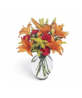 Tigress Bouquet in a vase