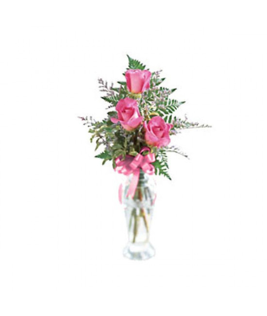 The Triple Delight Rose Bouquet