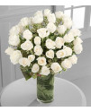 Clarity Luxury Rose Bouquet - 48 Stems
