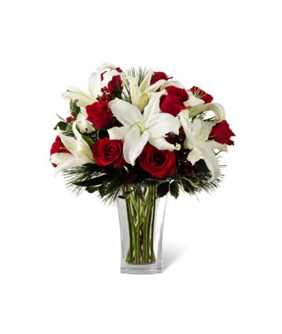 The FTD Holiday Wishes Bouquet