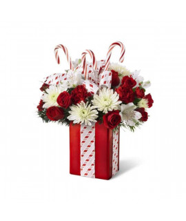 The FTD Holiday Surprise Bouquet