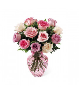 The FTD Mother's Day Mixed Rose Bouquet