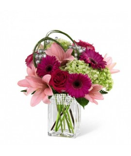 The FTD Blooming Bliss Bouquet