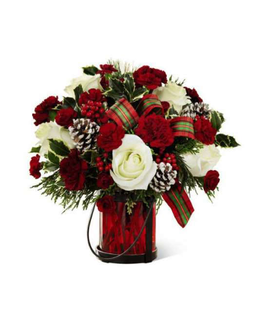 The FTD Holiday Wishes Bouquet by Better Homes and Gardens