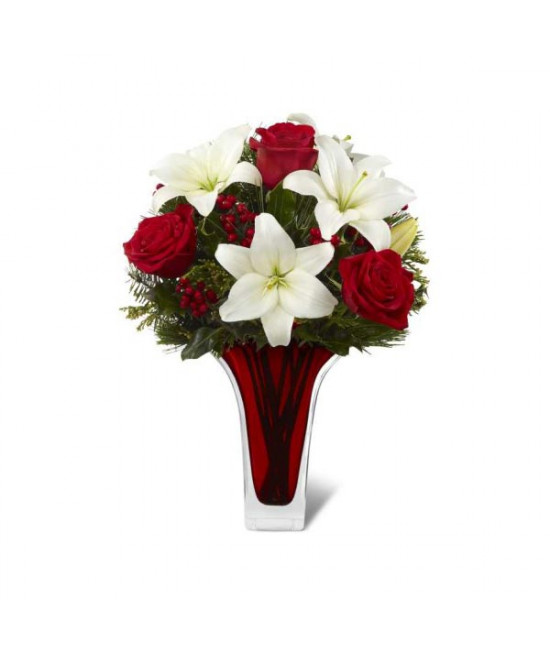 The FTD Holiday Celebrations Bouquet