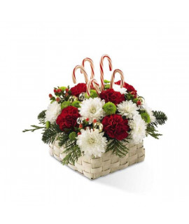 The Colors of Christmas Bouquet